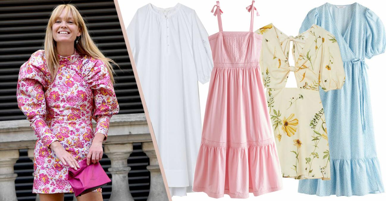 klänning till midsommar dam 2021