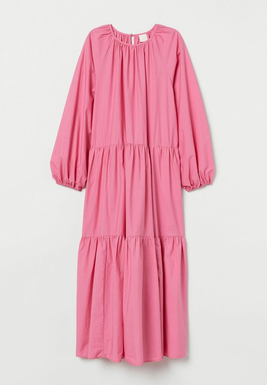 Rosa klänning för dam till våren 2020