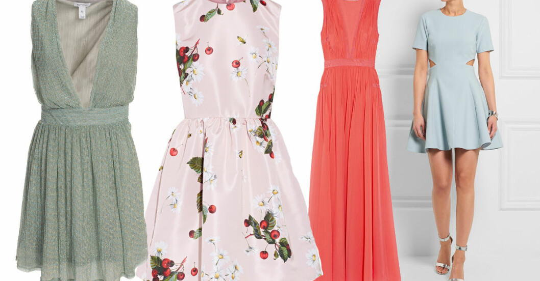klänningar bröllop gäst