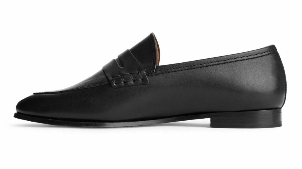 Svarta loafers till hösten
