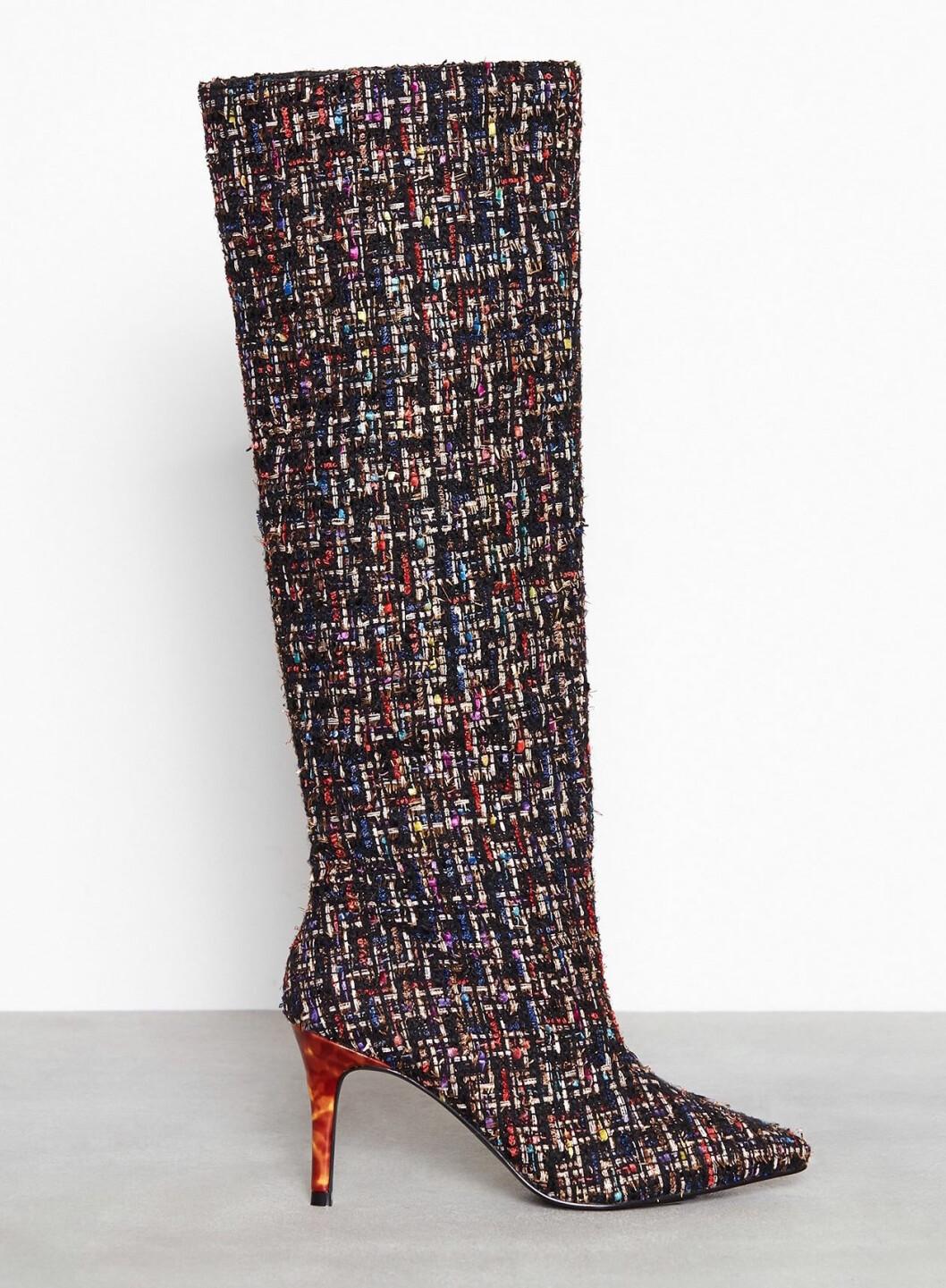 Knähöga boots dam