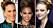 Sarah Jessica Parker, Jennifer Lopez och Amanda Seyfried är chica i hög knut.
