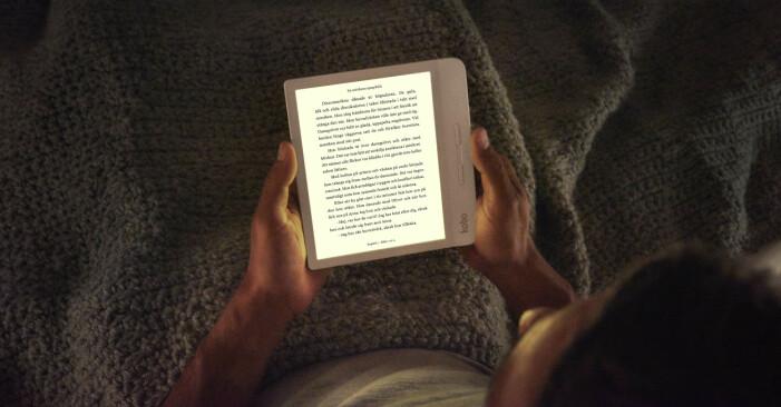 Kobo Libra H20 – att läsa i mörker