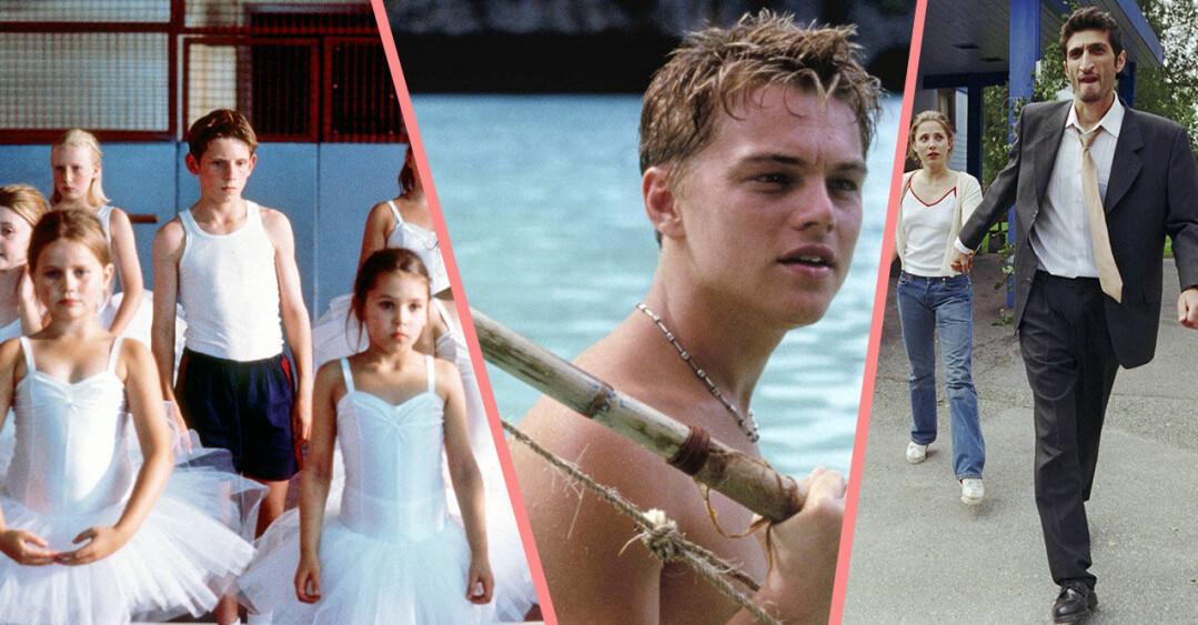 kollage på scener ur filmerna billy elliot, the beach och jalla! jalla!