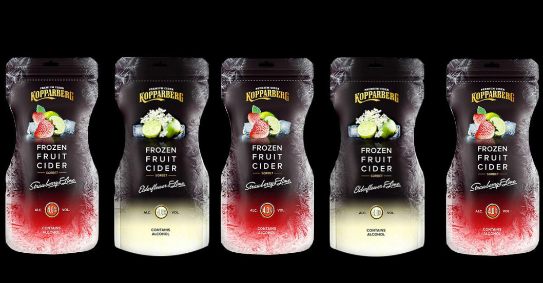 kopparbergs isglass cider