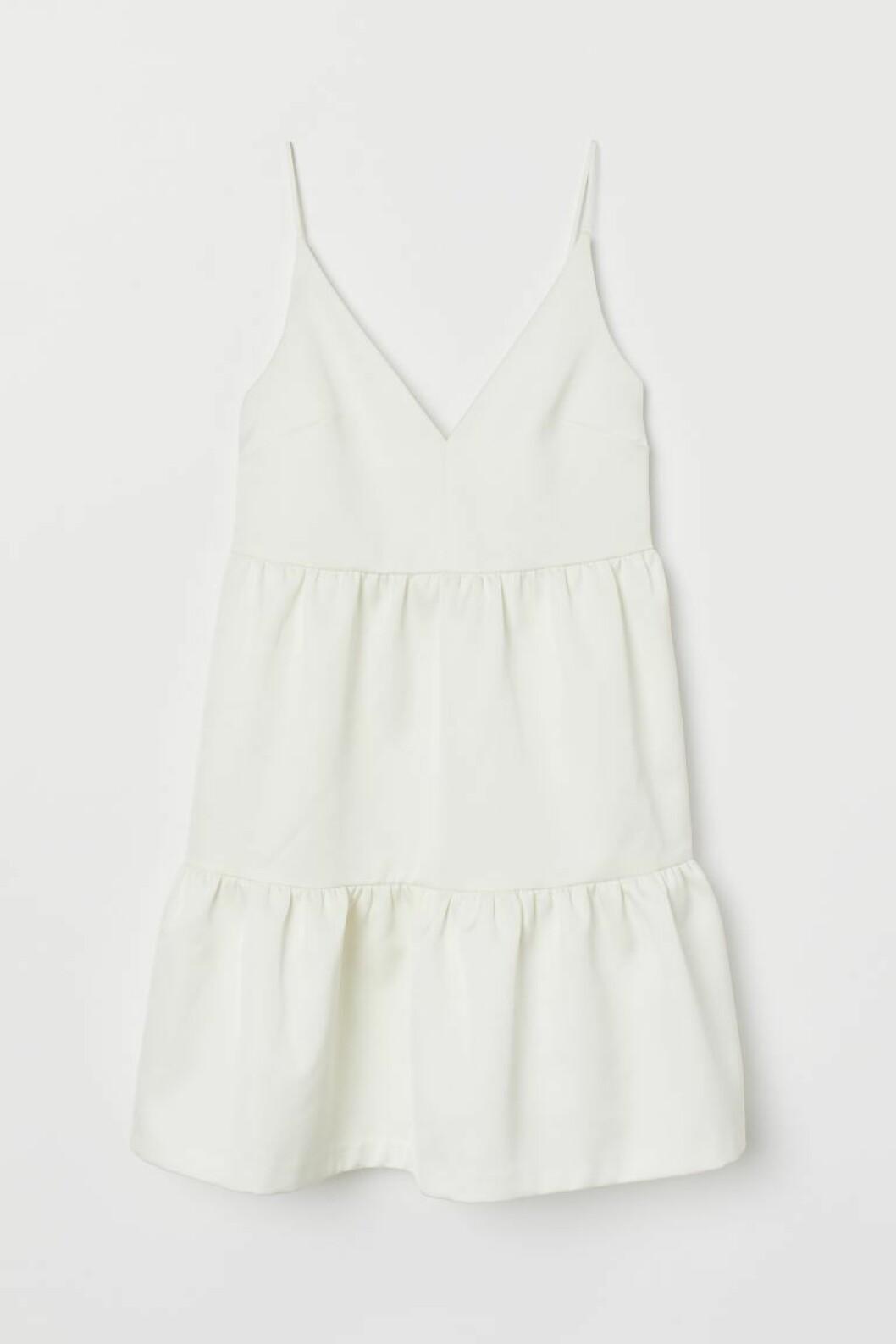 Kort bröllopsklänning från H&M