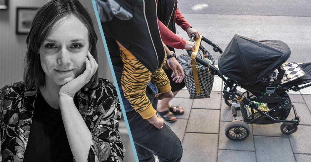 Kristin Öster psykolog i Baaam om barn, pension och deltid.