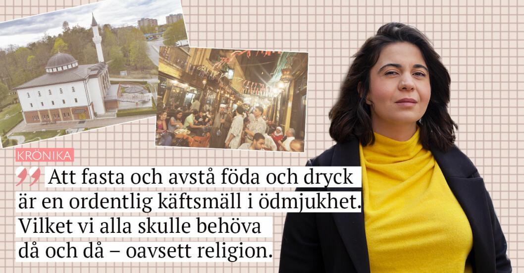 Sarah Delshad skriver om ramadan 2021