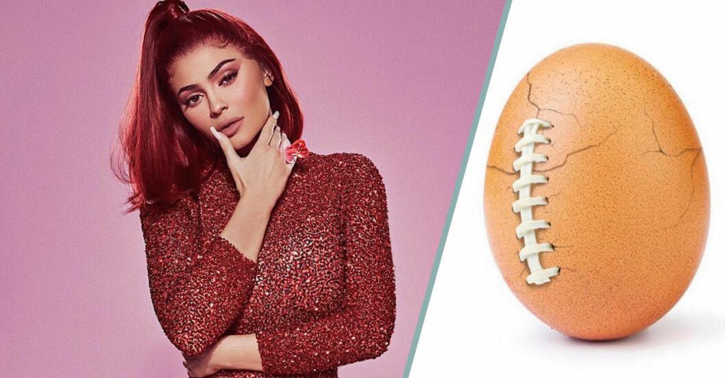 Ägget Eugene krossade Kylie Jenners världsrekord på Instagram