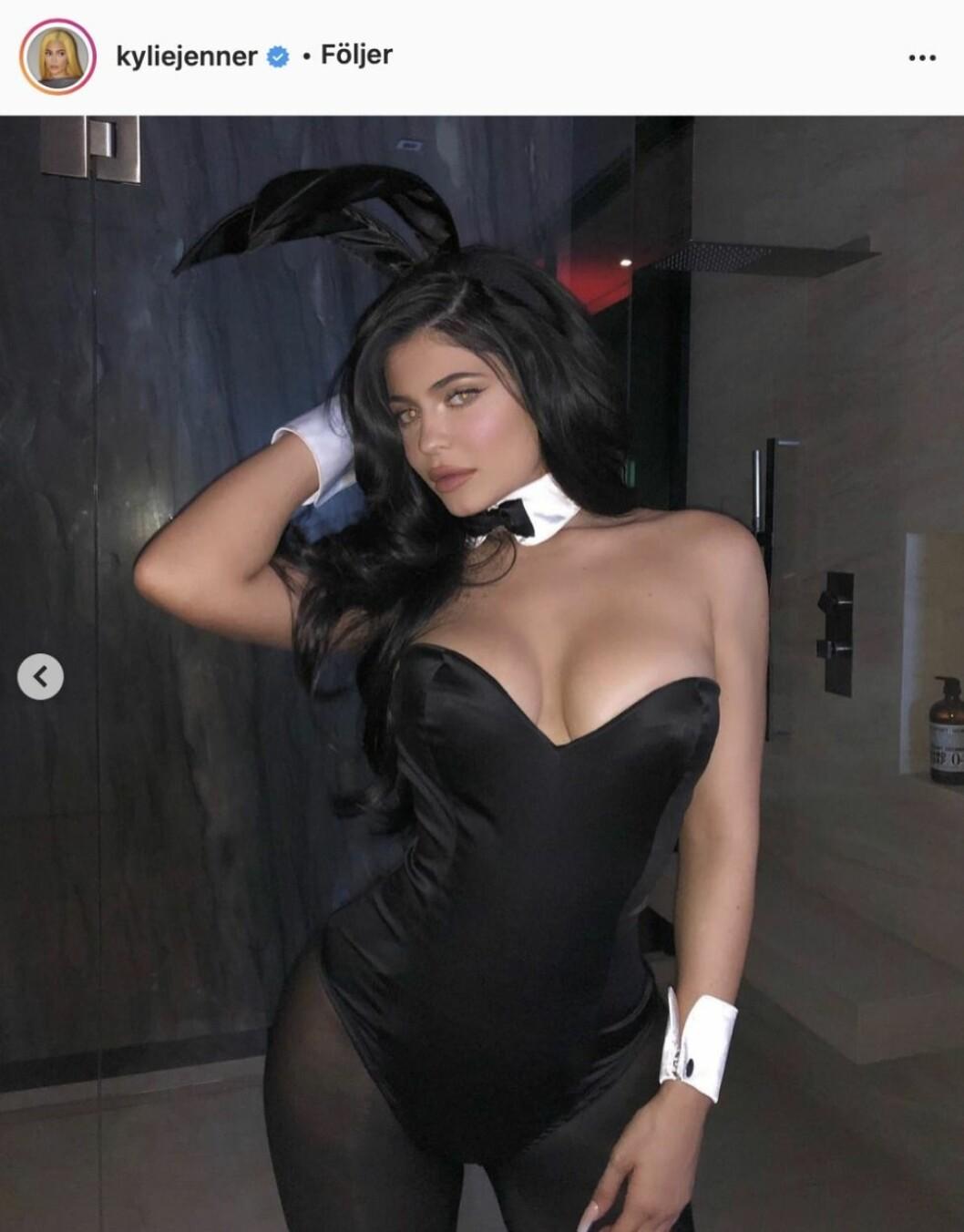 Kylie Jenner som playboy bunny