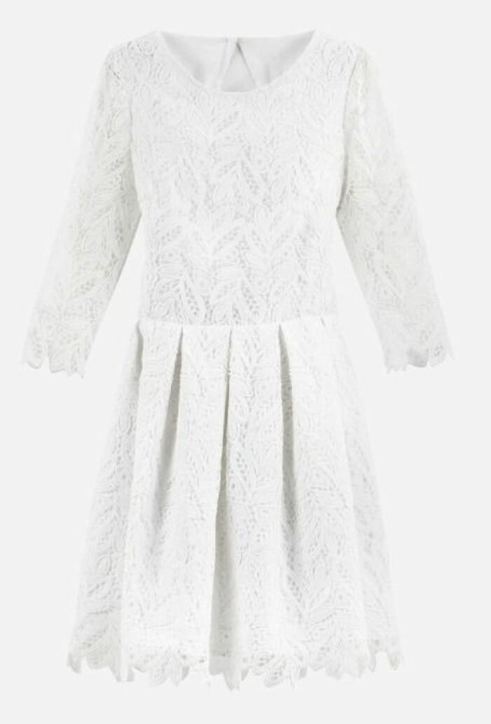 vit spetsklänning La Redoute