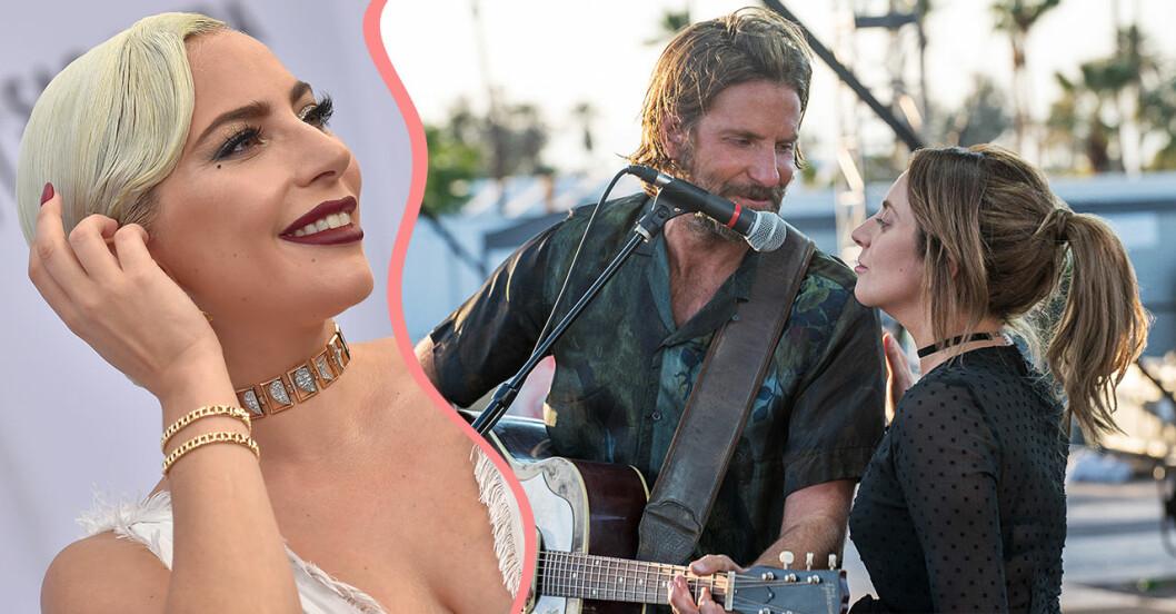 Lady Gaga och Bradley Cooper uppträder live med Shallow