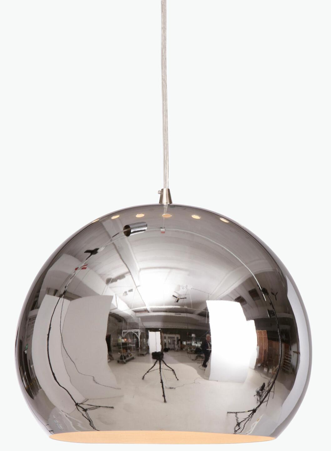 lampa rund silver