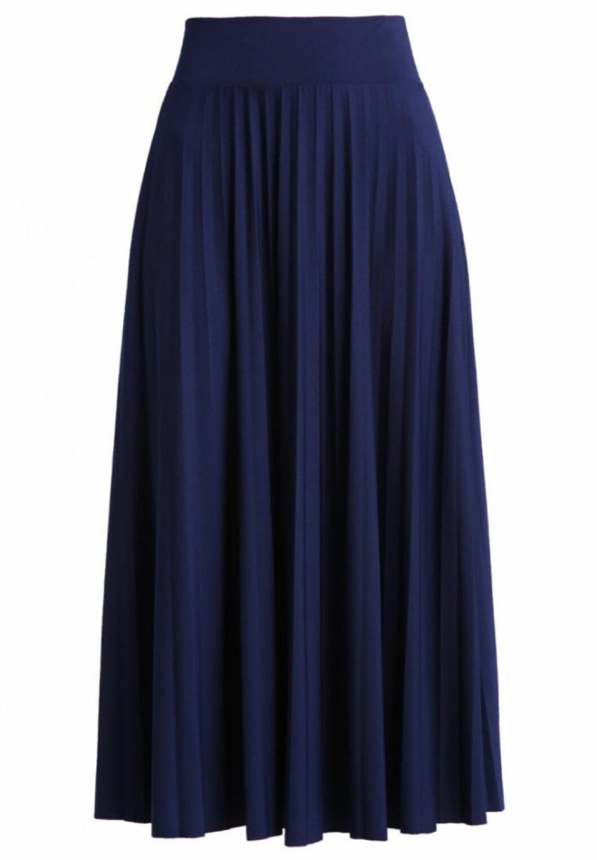 Lang-bla-kjol