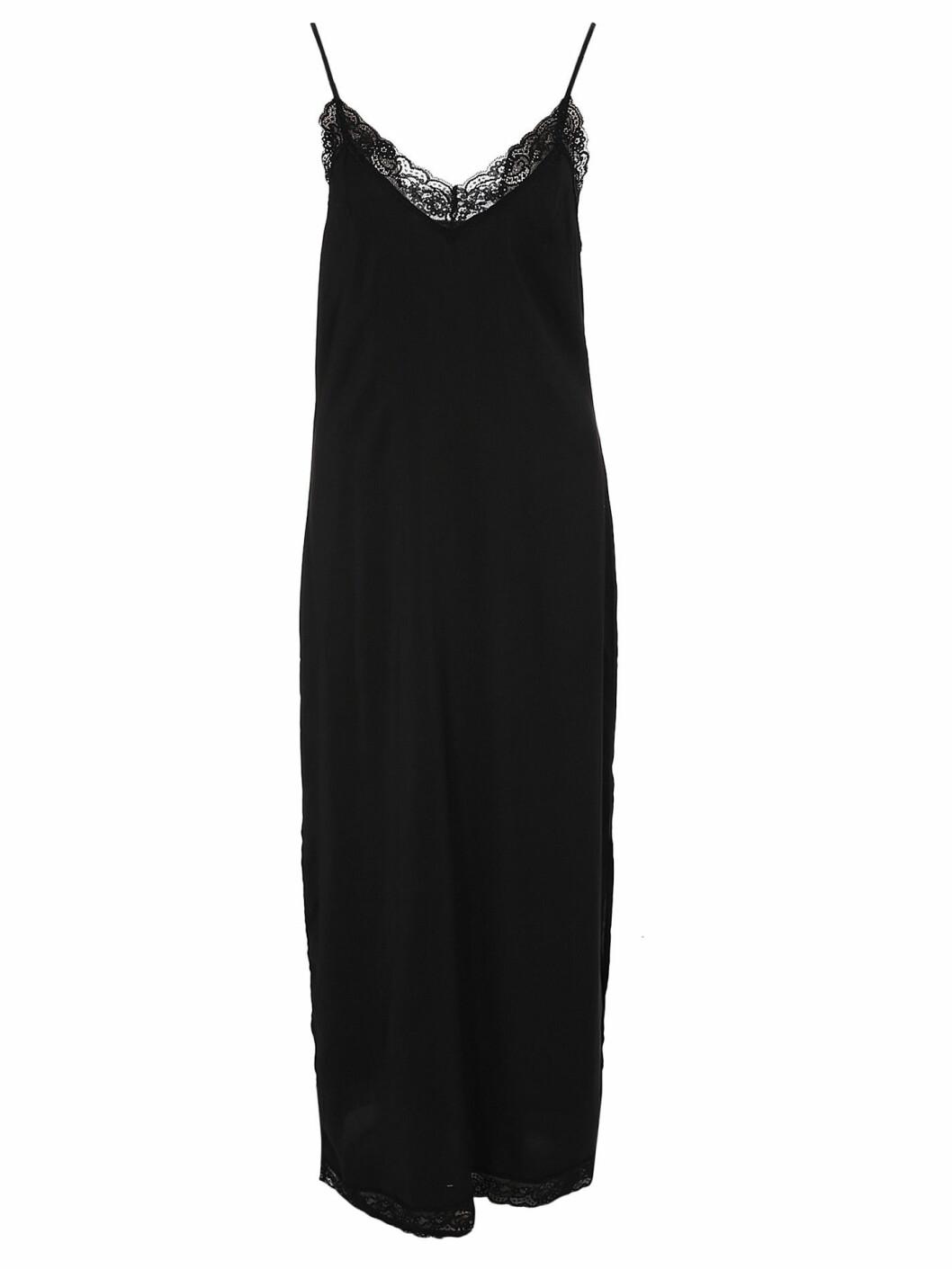 lång klänning spets