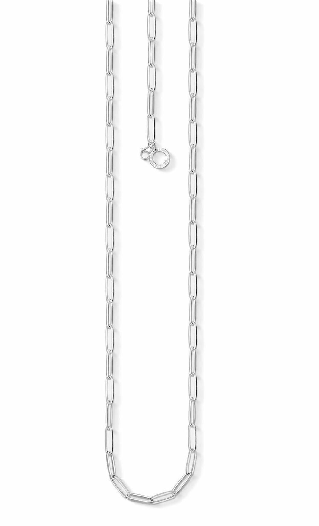 Tunt kedjehalsband i silver från Thomas Sabo