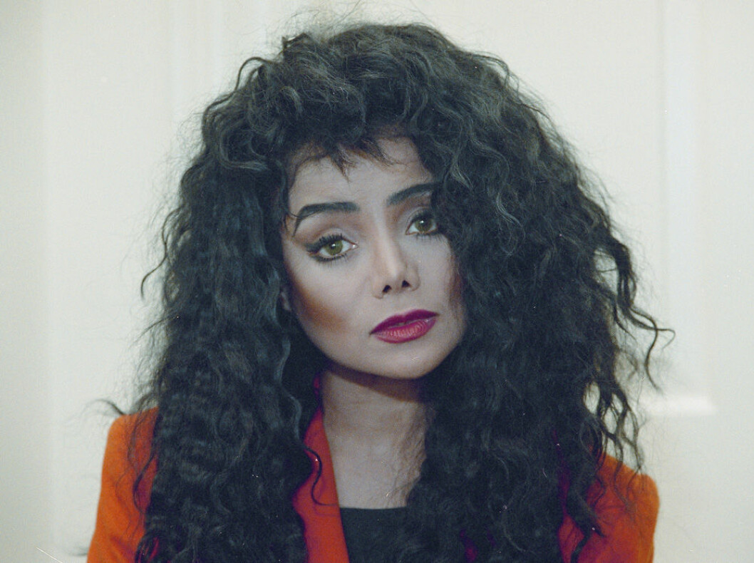LaToya Jackson, Michael Jacksons syster, 1991.