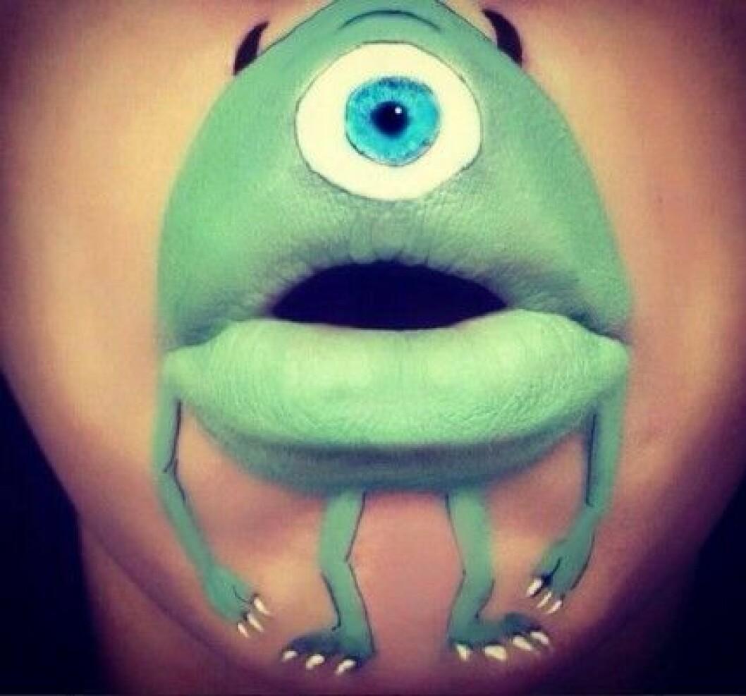 "Mike från ""Monsters Inc""."