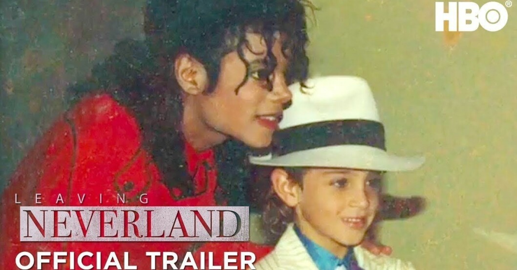 railern för Leaving Neverland - dokumentären om