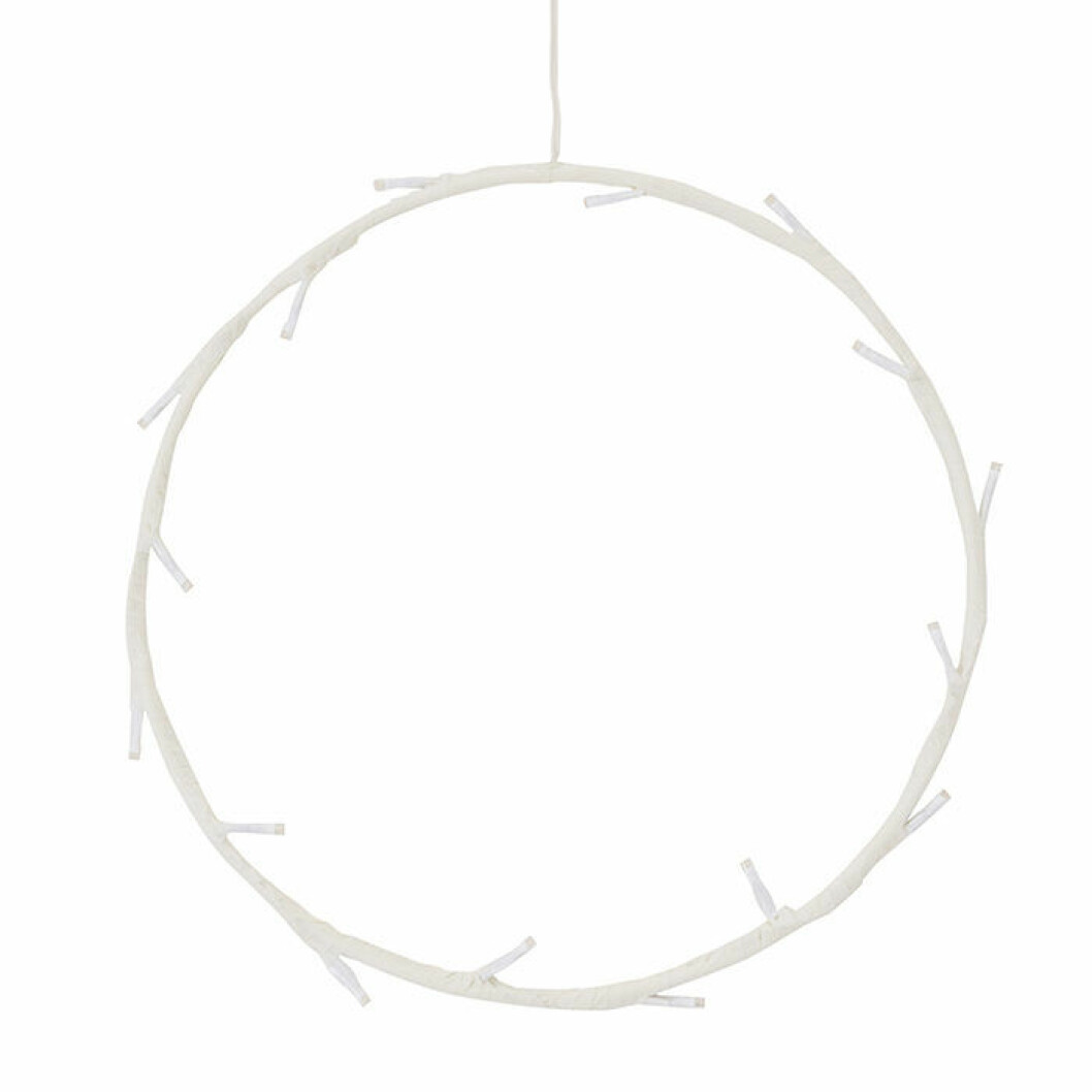 LED-lampa i form av en ring