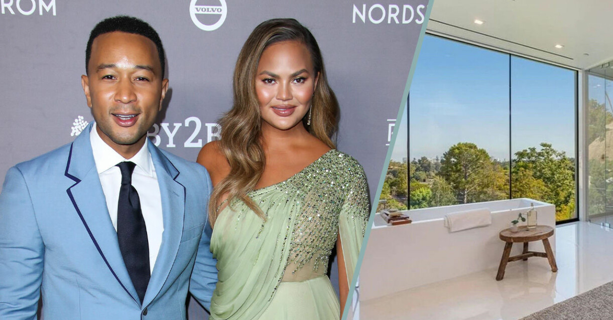 Chrissy Teigen och maken John Legend nya och lyxiga bostad i Beverly Hills.
