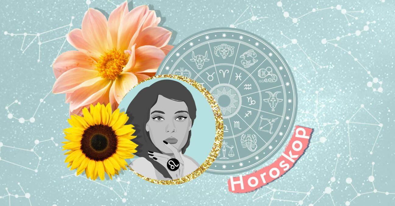 Lejonets horoskop för augusti vecka 32 2021.