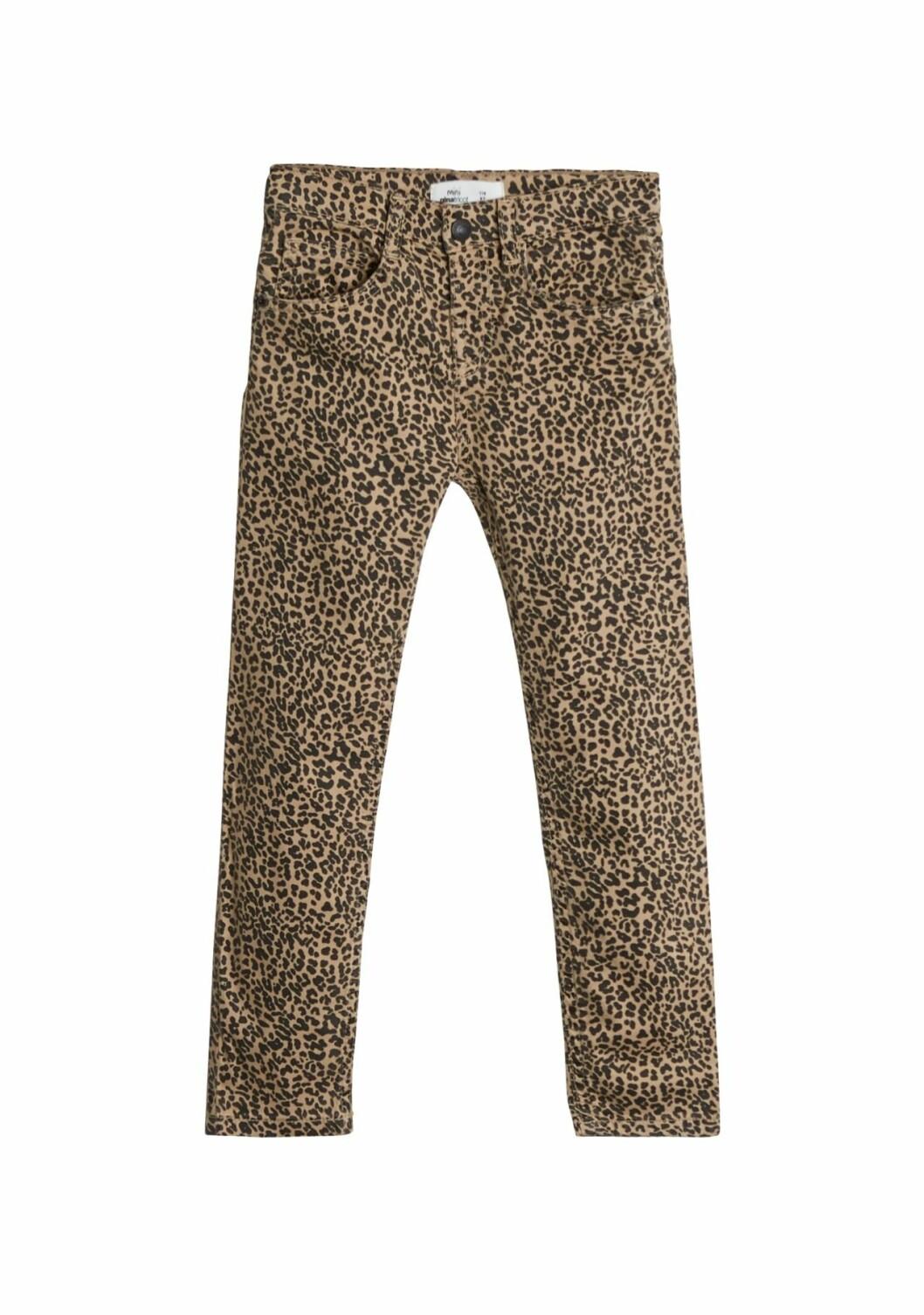 Gina tricot Mini mor- och barnkollektion –leopardmönstrade jeans