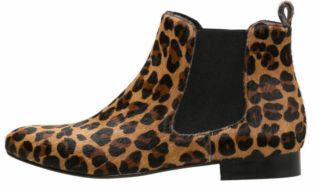 leopard ankelboots