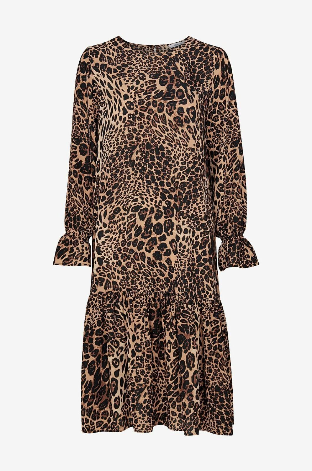 Leopardmönstrad klänning till dam