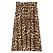 Leopard plisserad kjol från bubbleroom