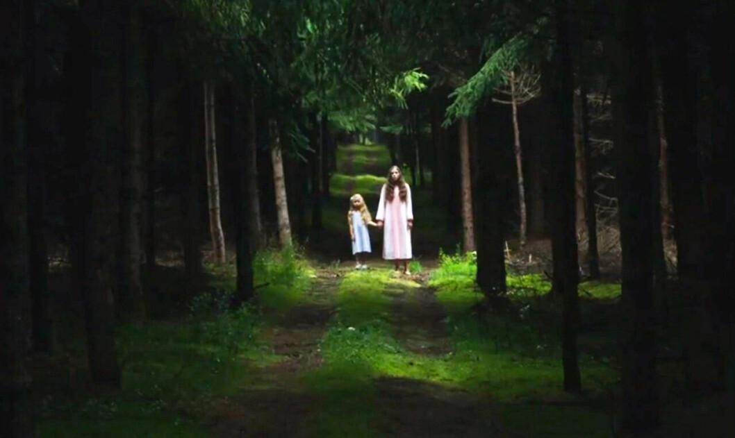 En bild från skräckfilmen Les Affamés, som finns på Netflix.