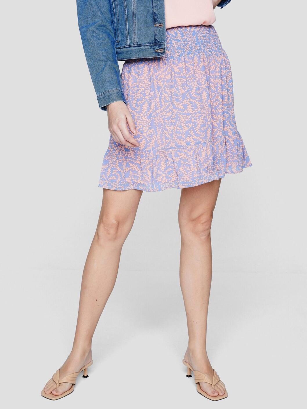 Lila kjol för dam till våren och sommaren 2020
