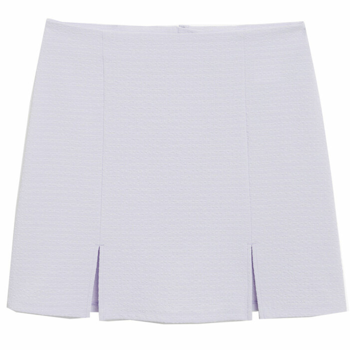 lila kort kjol från monki