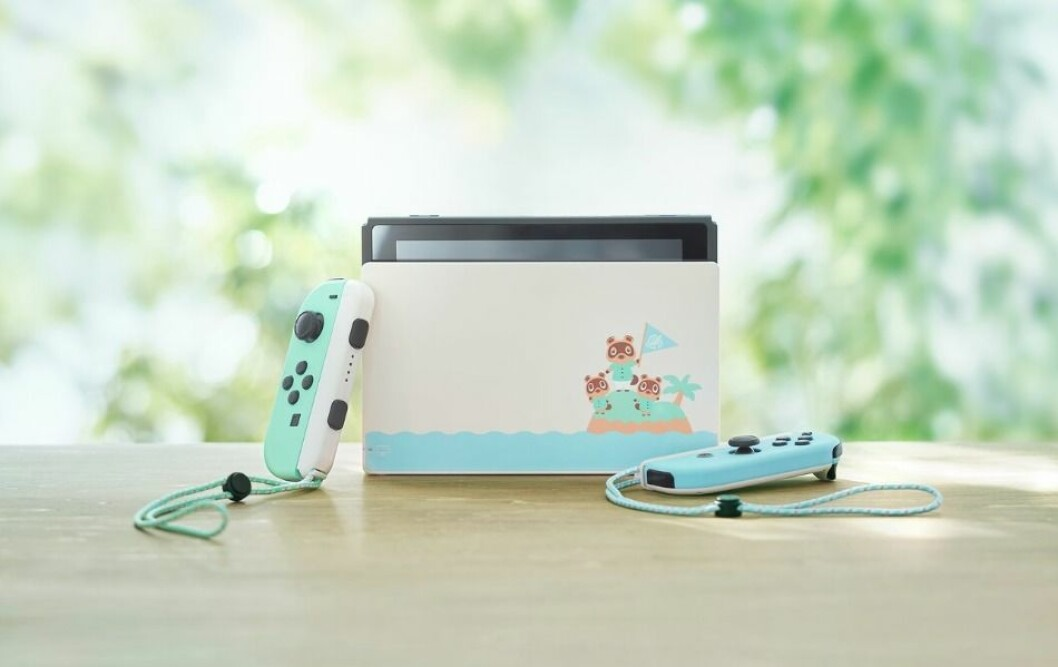Limited Nintendo Switch Animal Crossing: New Horizons Edition