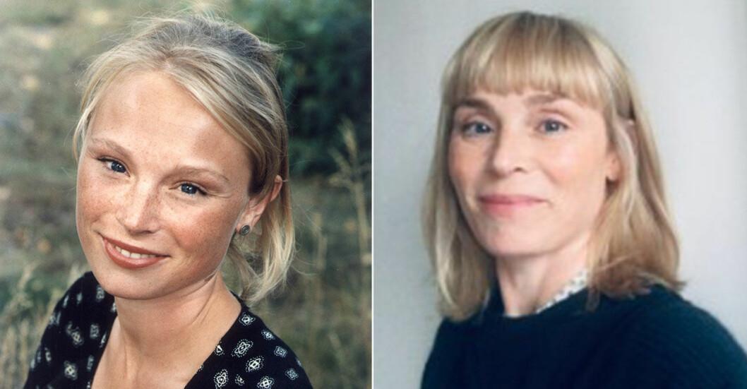 Lina Pleijel då och nu