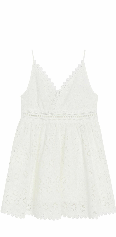Lindex och By Malinas sommarkollektion – vit klänning