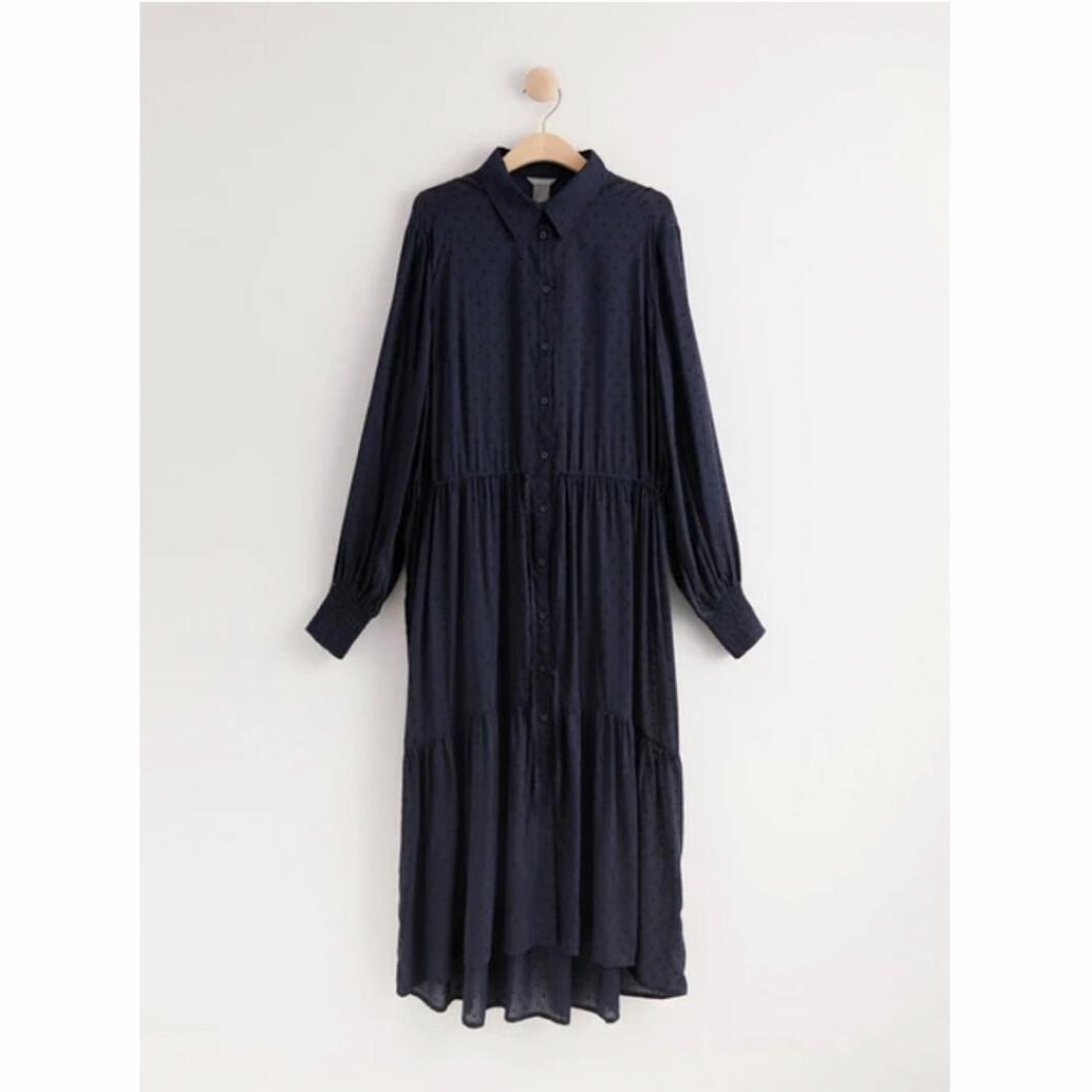 Långärmad klänning från Lindex