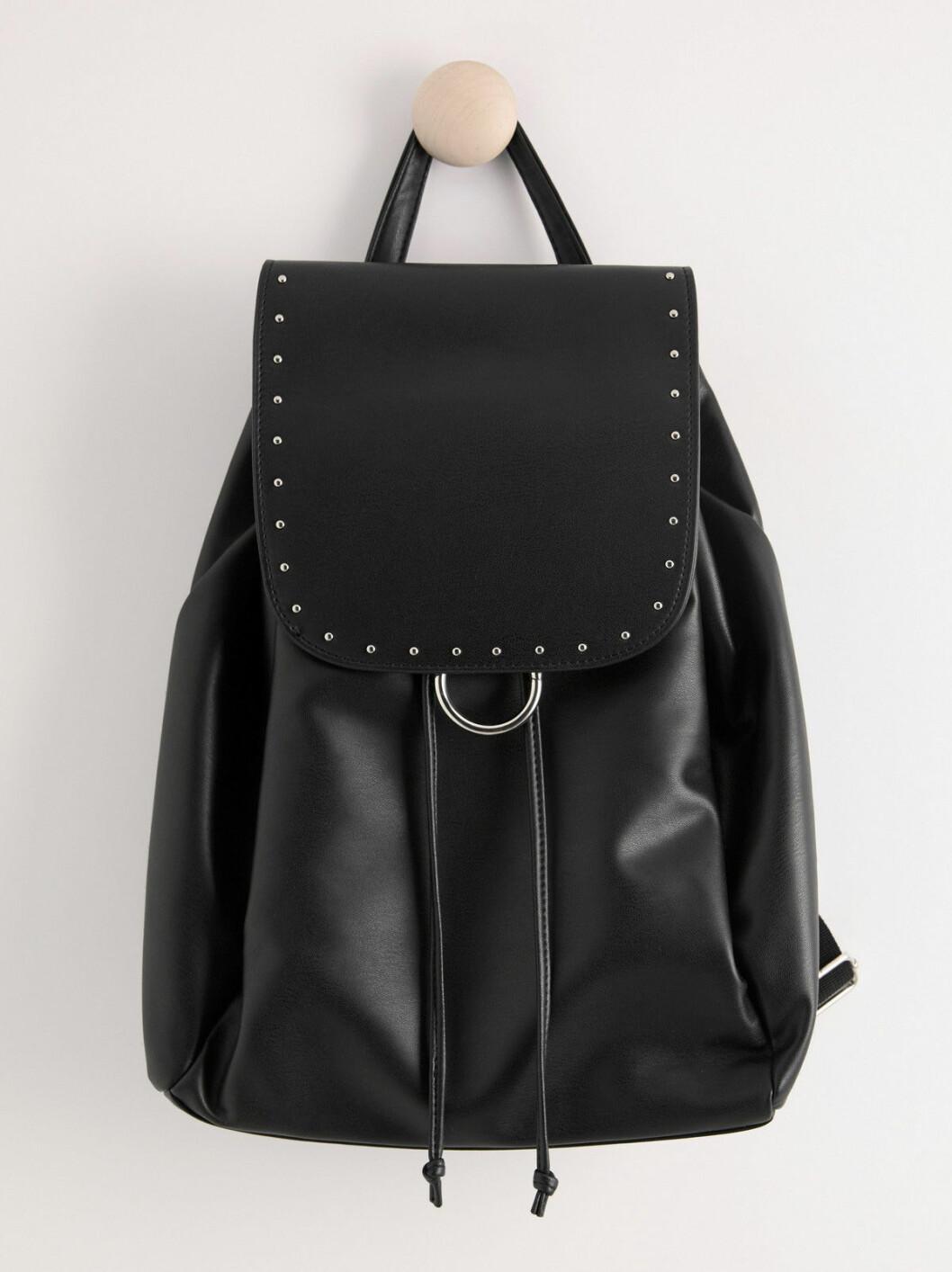 Svart ryggsäck från Lindex