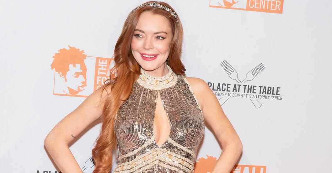 Lindsay Lohan på röda mattan