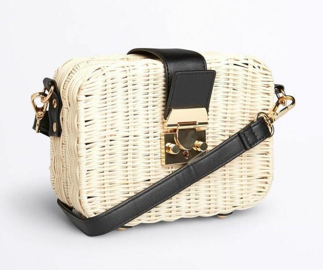 Liten stråväska för dam från gina tricot