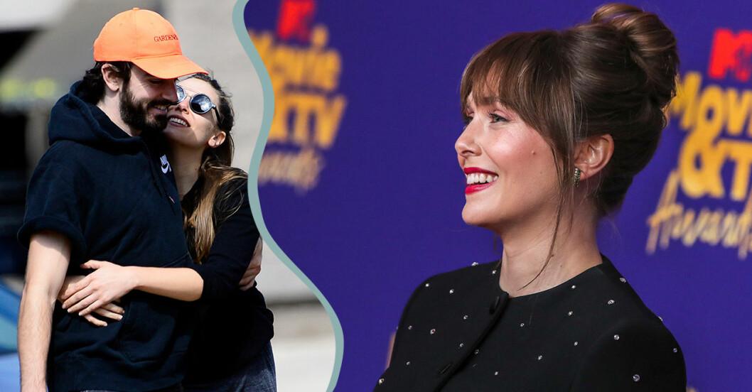 Elizabeth Olsen och Robbie Arnett har hållit ihop sedan 2017.