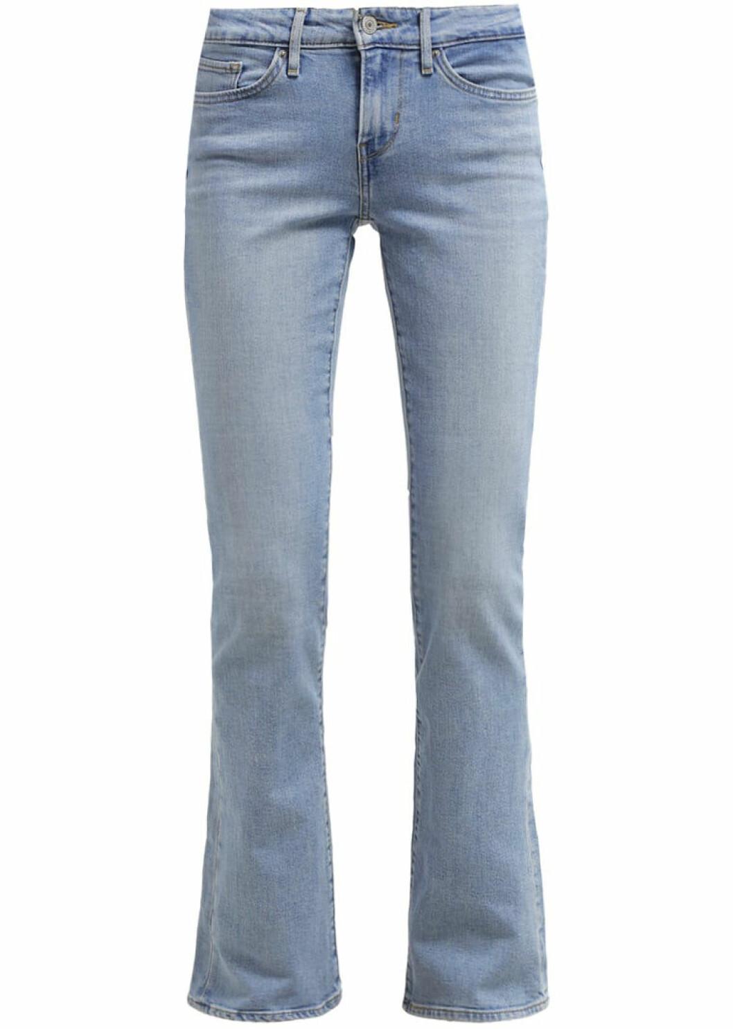 ljusa bootcut jeans