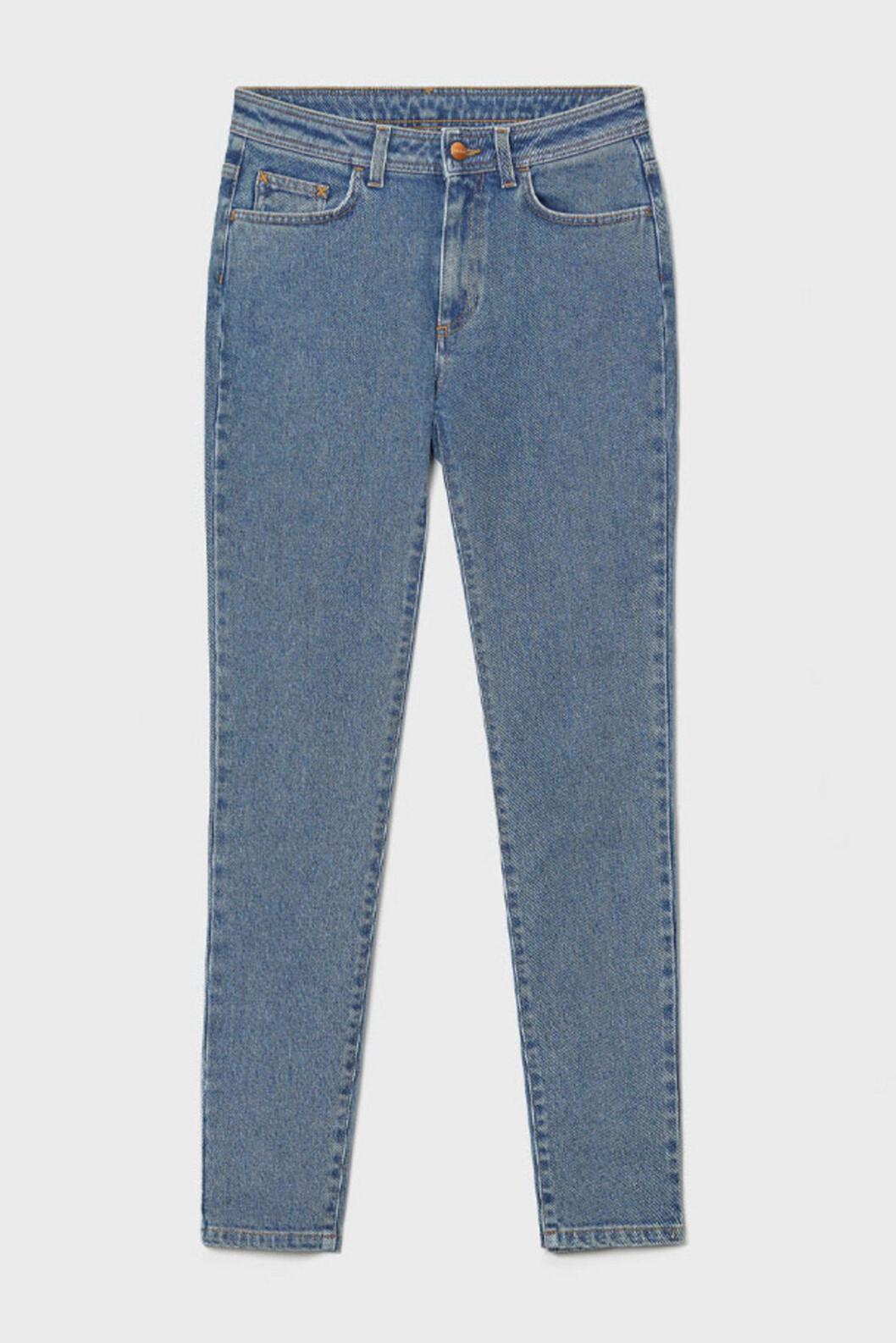 Ljusa jeans med smala ben för dam till våren 2020