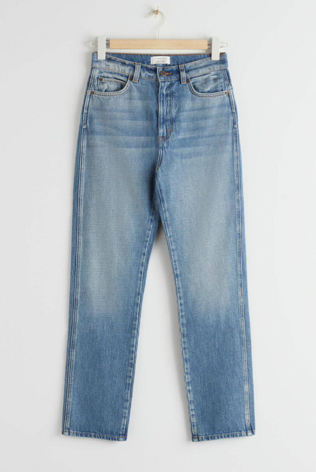 Ljusa jeans med hög midja för dam till våren 2020