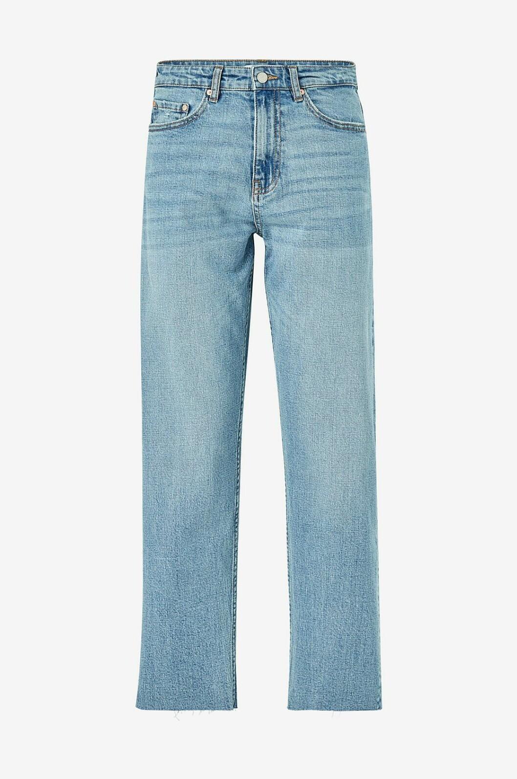 Ljusa jeans med raka ben för dam till våren 2020
