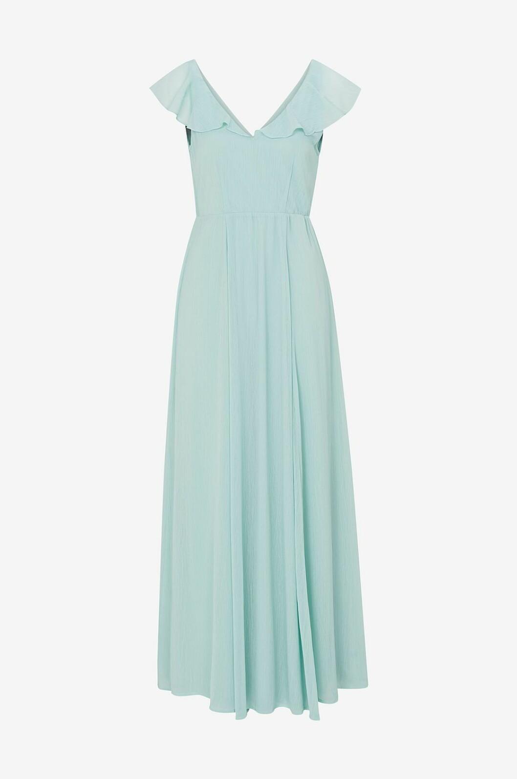 Blå balklänning till balen 2019