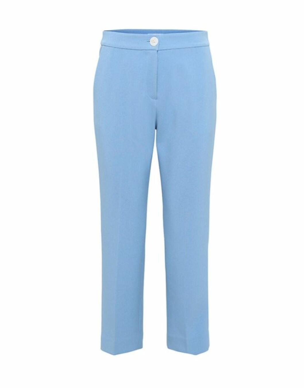 Blå byxor till hösten 2018