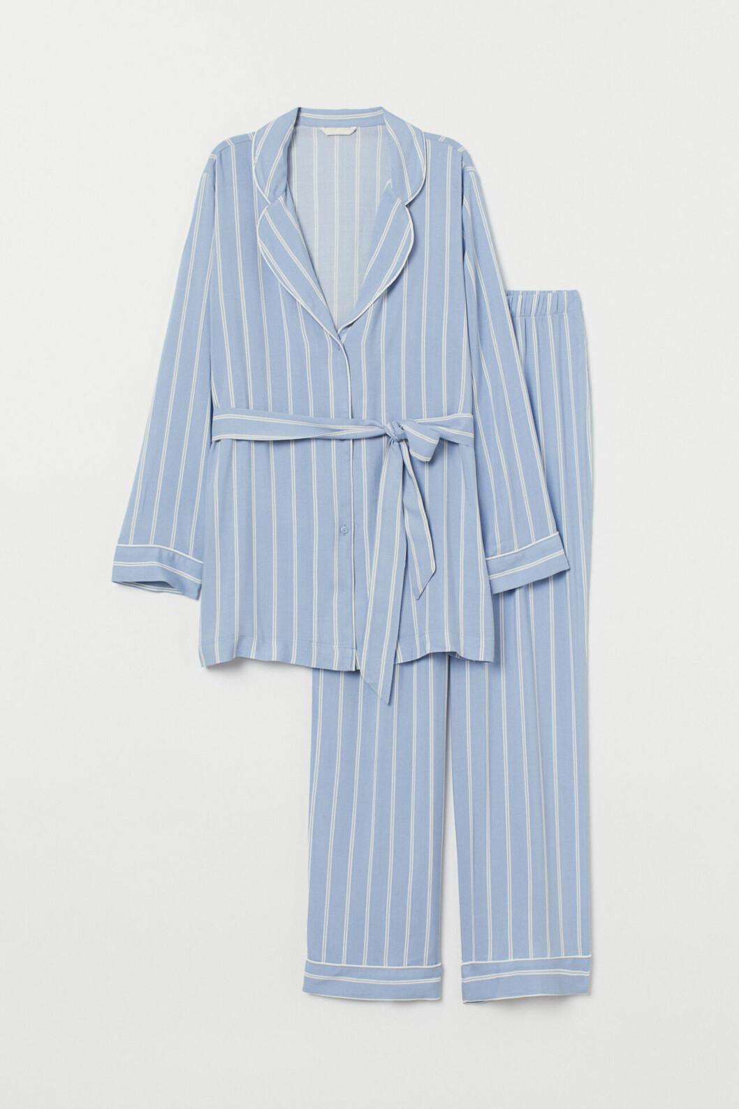 Ljusblå pyjamas för dam till 2019