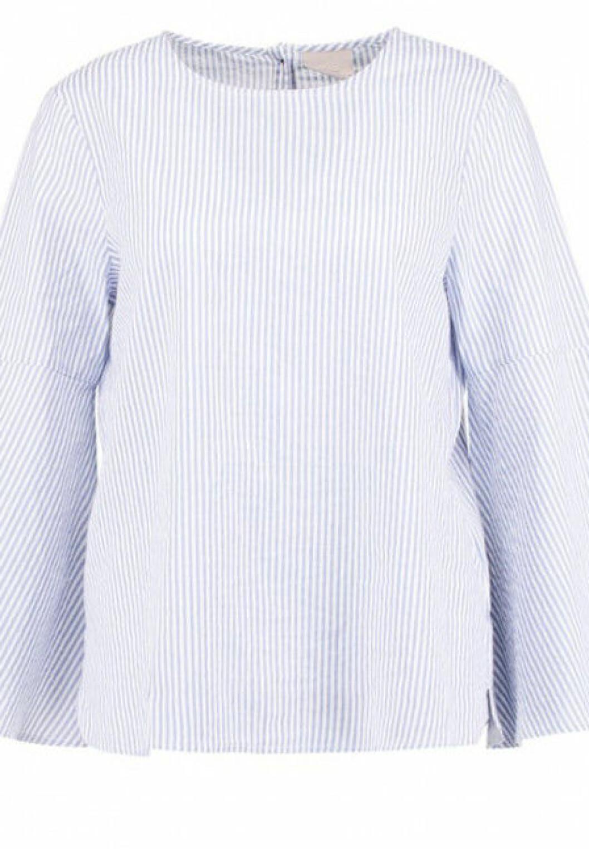 Ljusbla-randig-blus-vero-moda