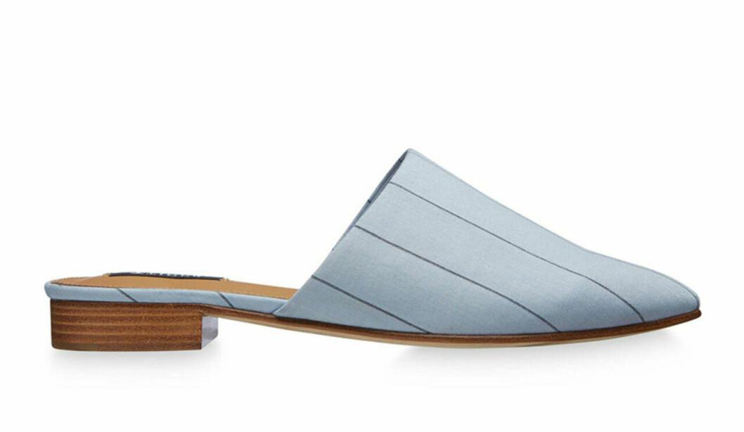 Ljusblå slip in-skor, vårskor, till våren 2019